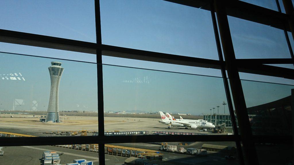 北京空港ファーストクラスラウンジ 長時間トランジットも快適に!
