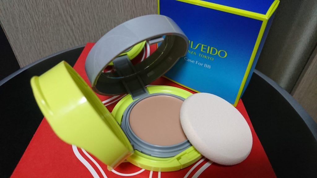 SHISEIDO BB コンパクトフォースポーツで夏の化粧崩れに勝つ