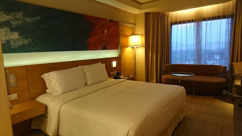 ダブルツリーby Hilton クアラルンプールの滞在記【お部屋編】